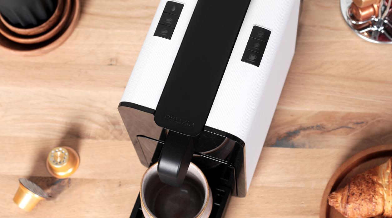 Una macchina da caffè con grandi caratteristiche. Viva B6 di Delizio.