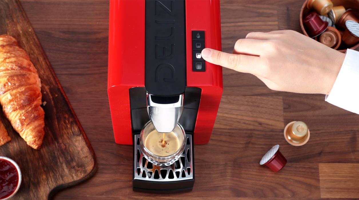 Facile da usare per il miglior caffè con la macchina da caffè Compact