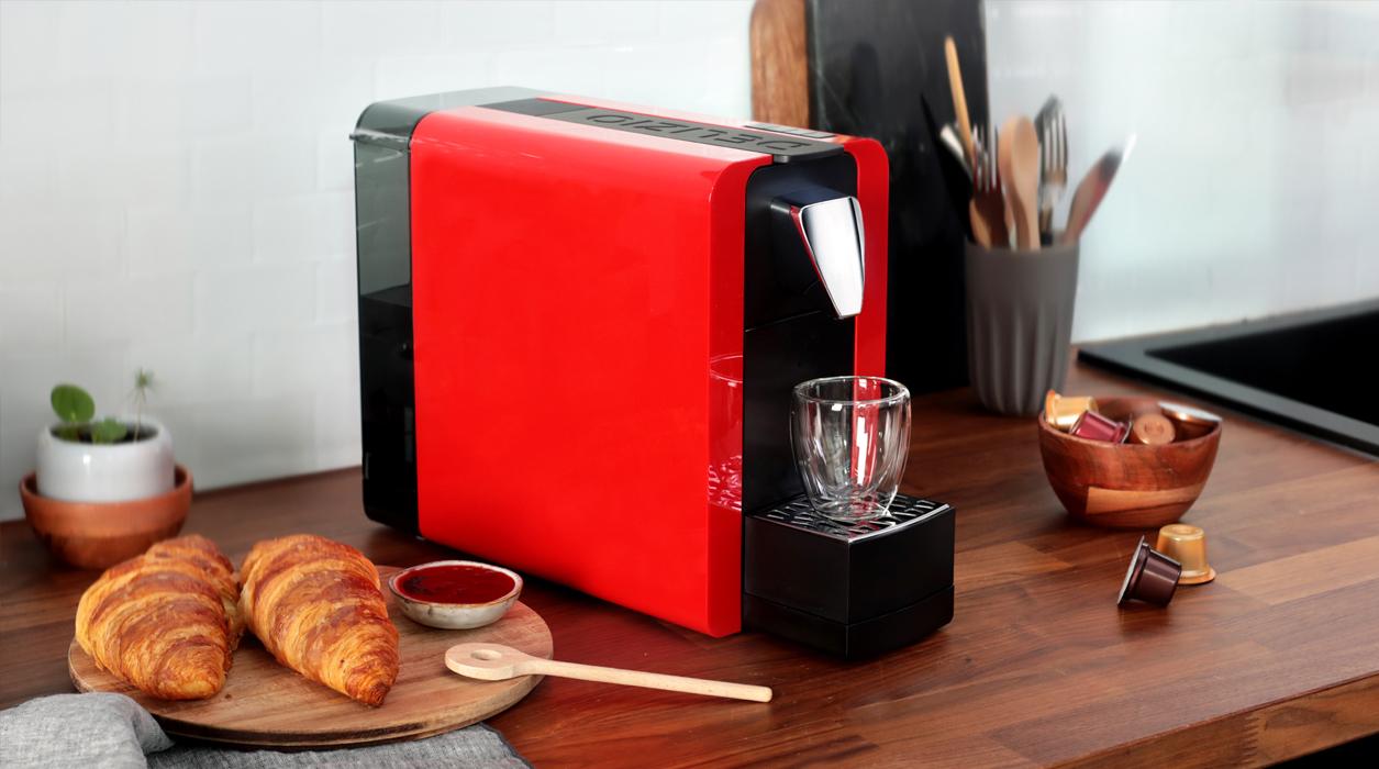 Caffettiera compatta One II perfetta per un alto consumo di caffè